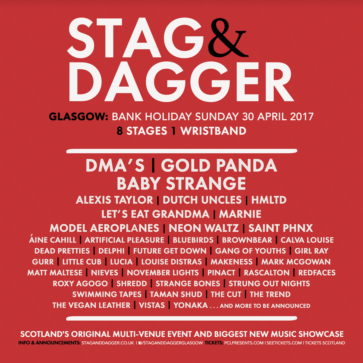 PCL Presents : Stag & Dagger