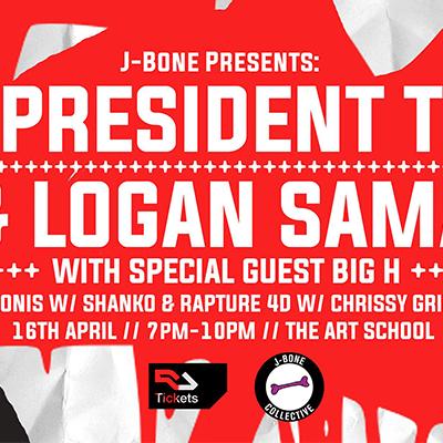 President T, Big H & Logan Sama