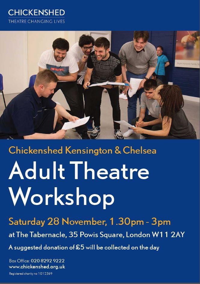 Chickenshed Kensington & Chelsea Adult Theatre Workshop