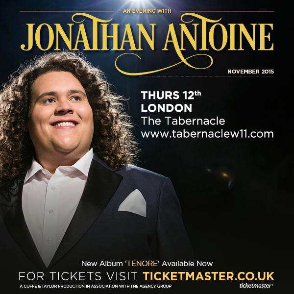 An Evening with Jonathan Antoine