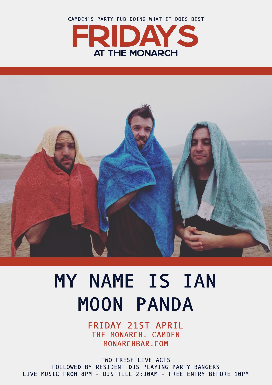 MY NAME IS IAN