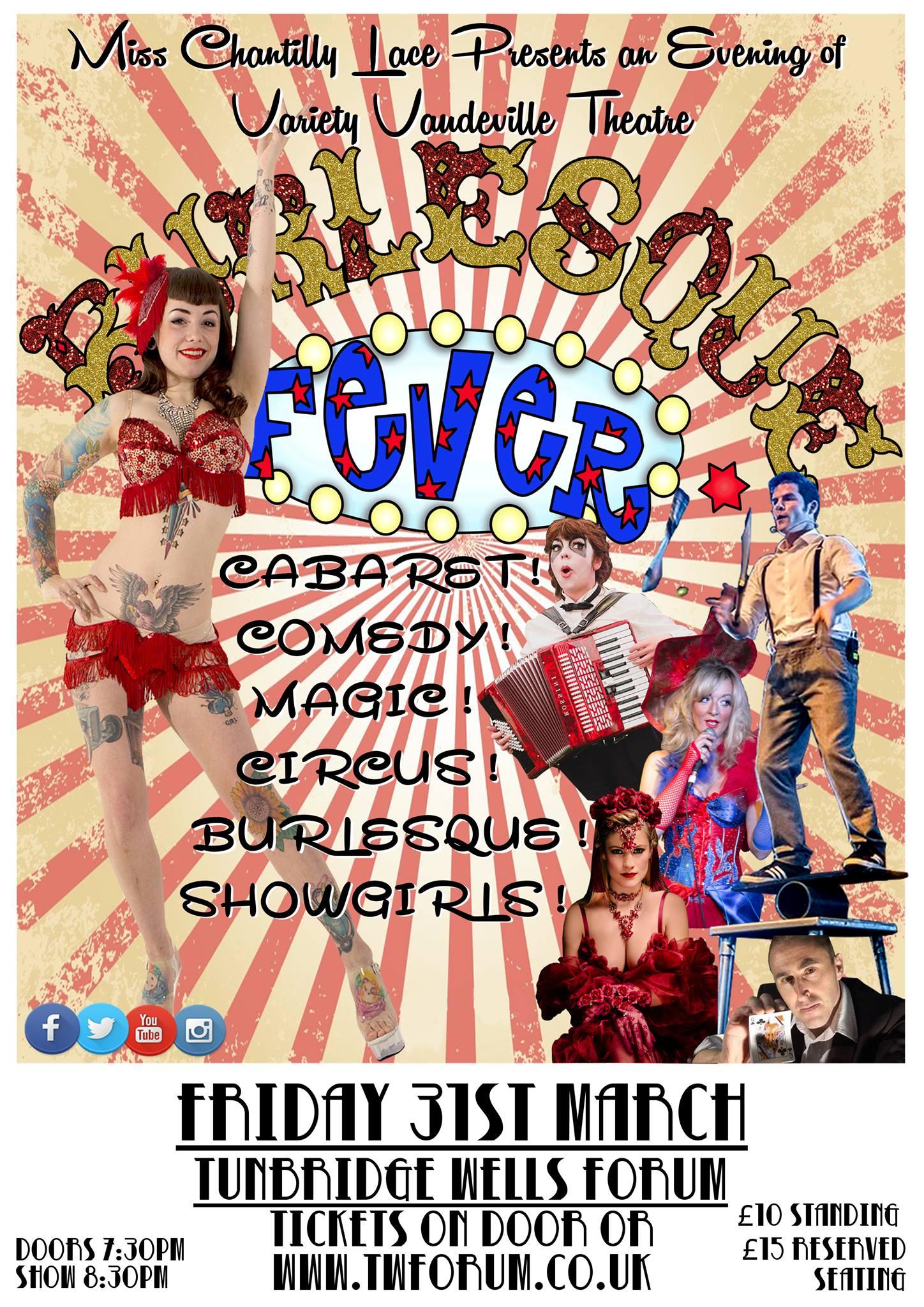 Burlesque Fever Show