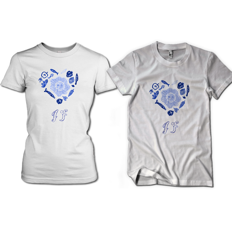 Heart T-Shirt - Johnny Flynn & The Sussex Wit (USD)