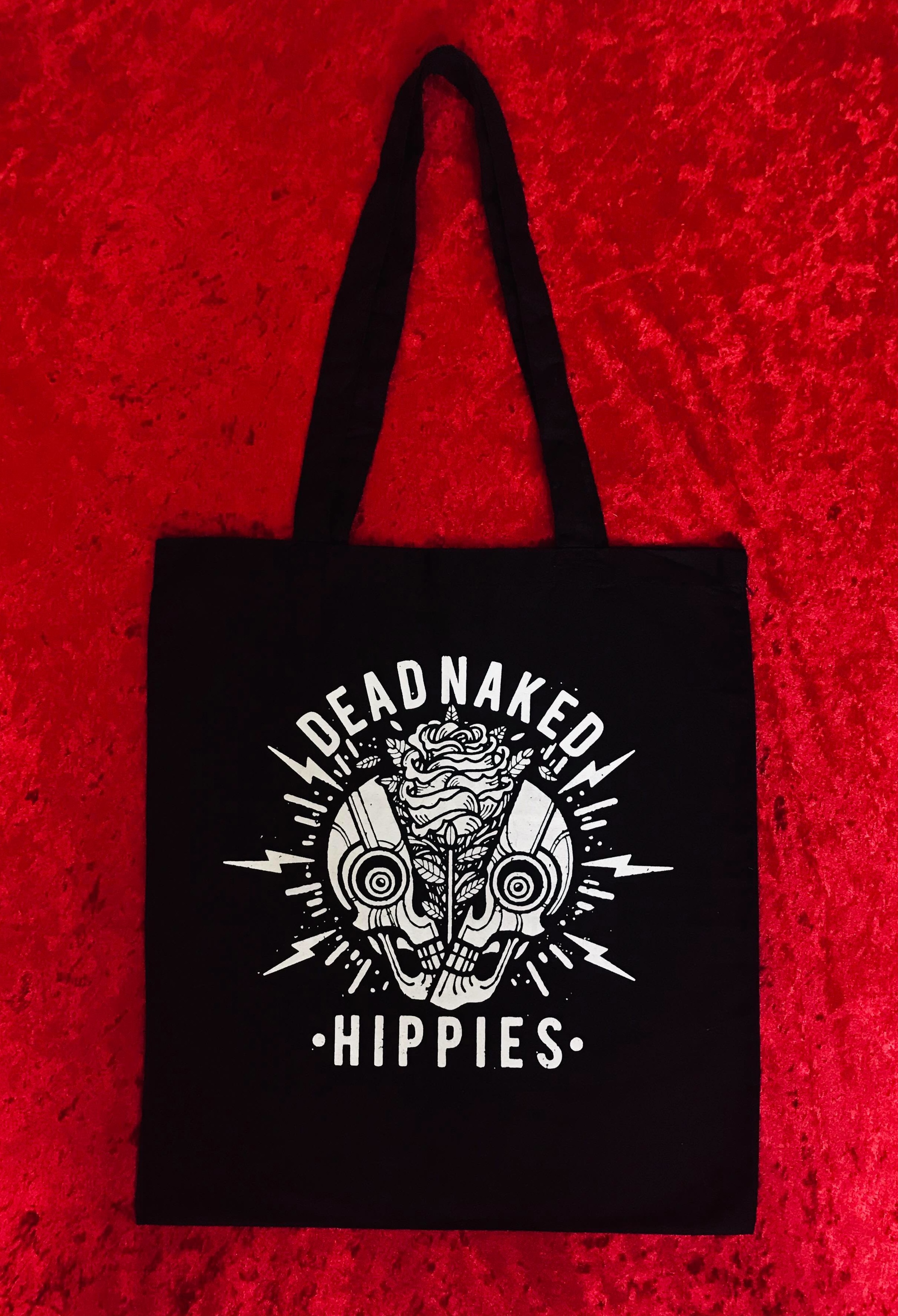 TOTE BAG - Dead Naked Hippies
