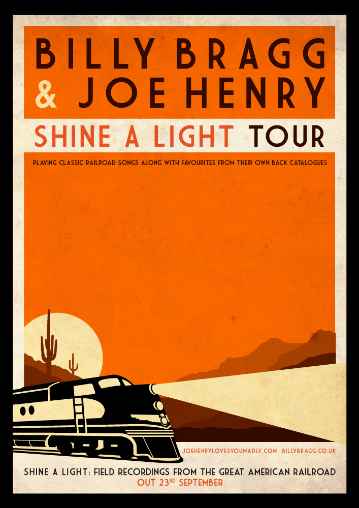 Bragg and Henry tour poster