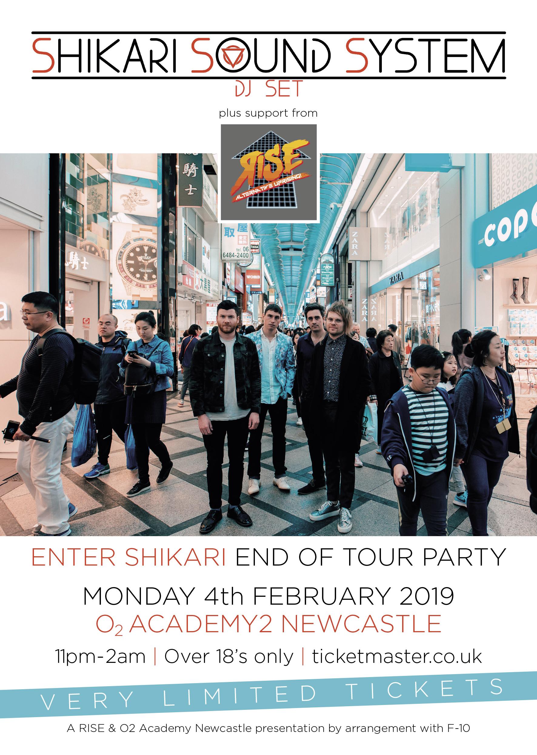 Shikari Sound System DJ Set at O2 Academy Newcastle, Newcastle Upon
