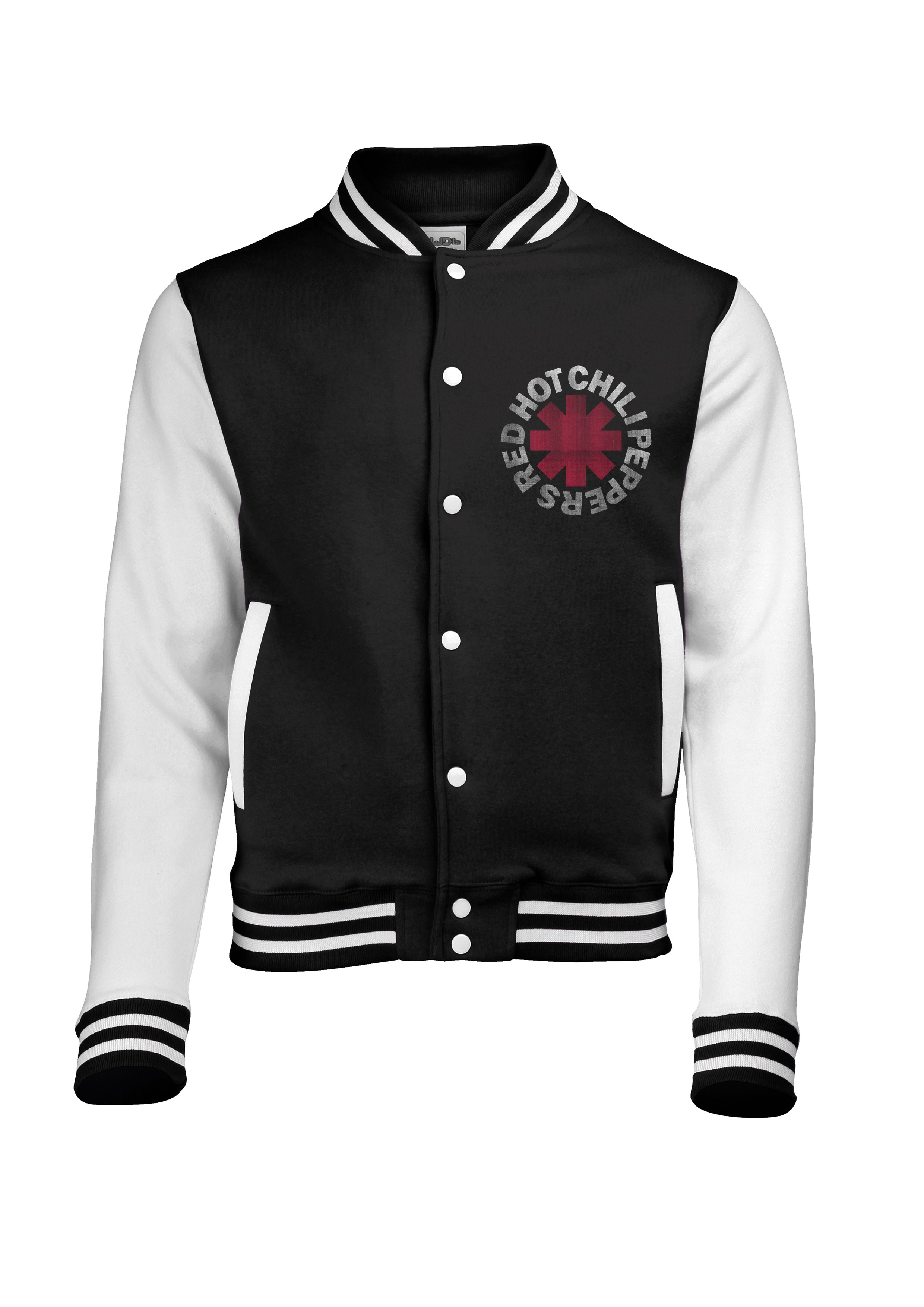 Xerox -  Black/White Varsity Jacket - Red Hot Chili Peppers