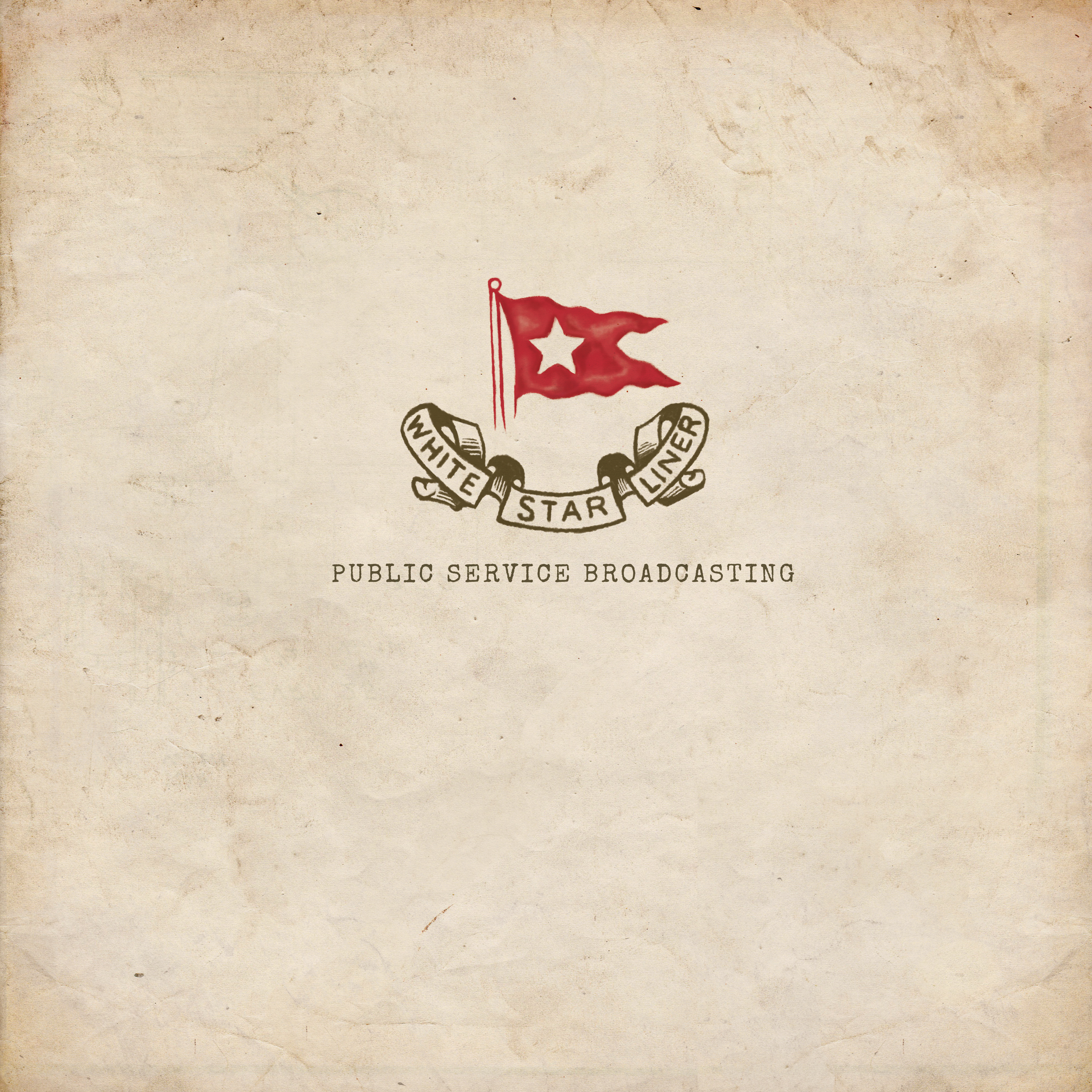 White Star Liner EP - Vinyl - PUBLIC SERVICE BROADCASTING