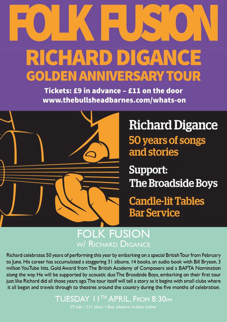 Folk Fusion Showcase with Richard Digance