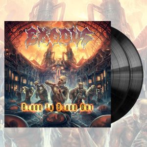 Exodus -  Blood In, Blood Out Limited Edition Gatefold Vinyl - Omerch