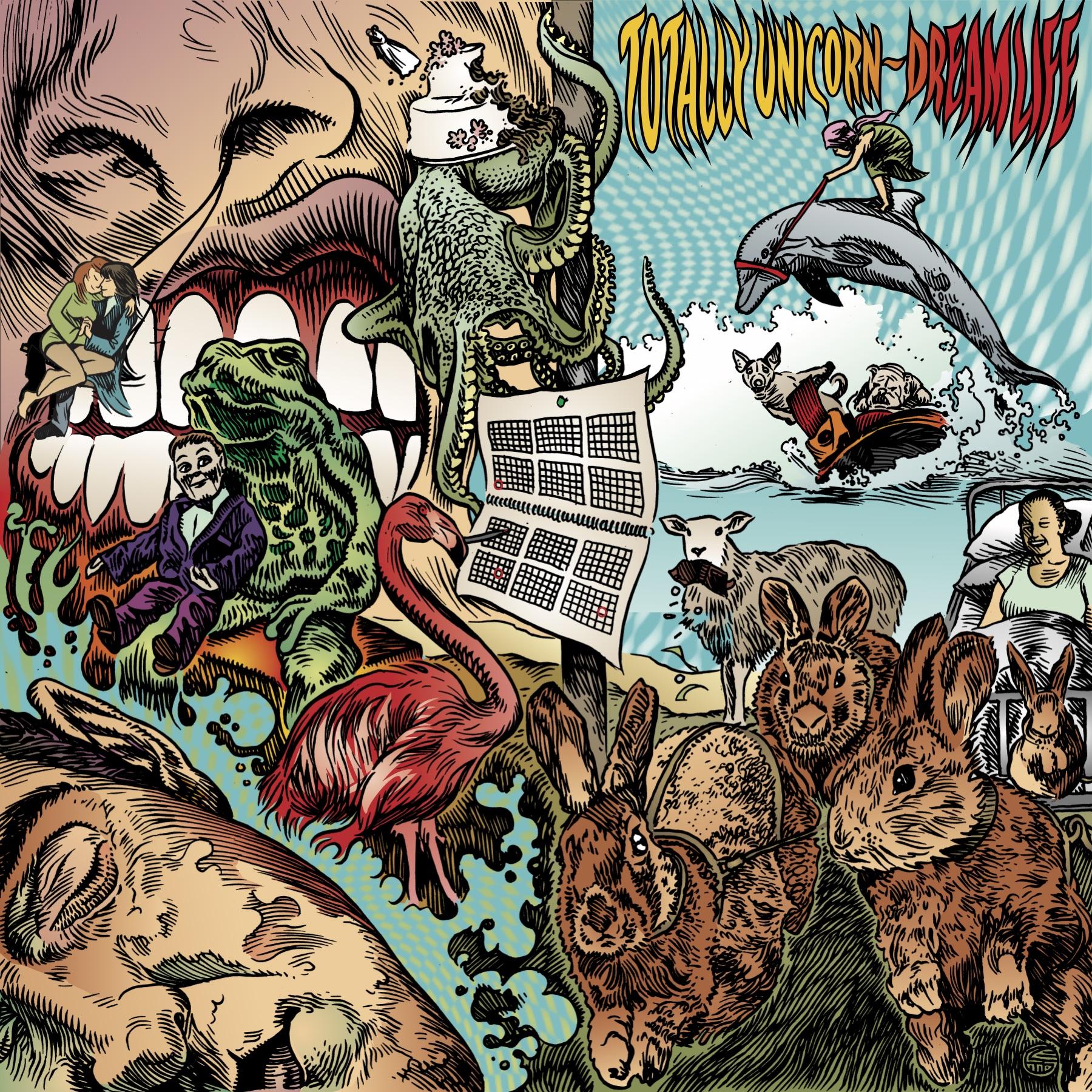 Dream Life CD - Totally Unicorn