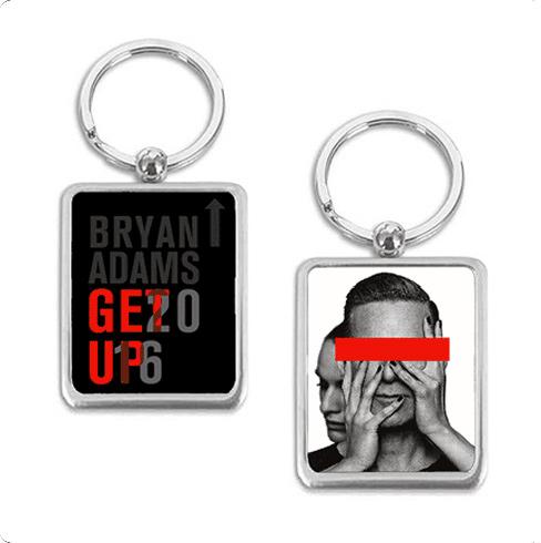 Get Up 2016 - Keyring - Bryan Adams