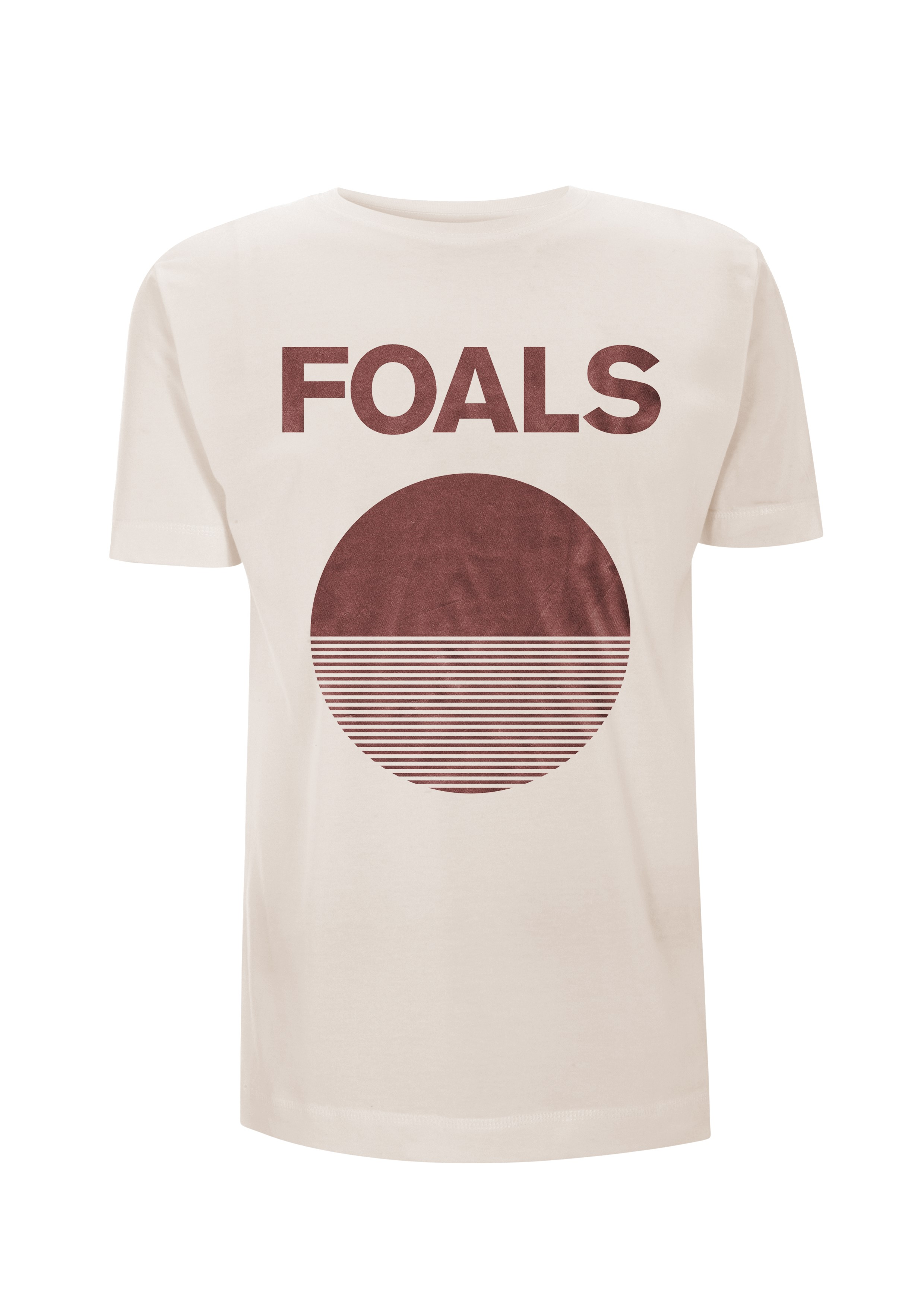 Circle Bronze – Natural Tee - Foals