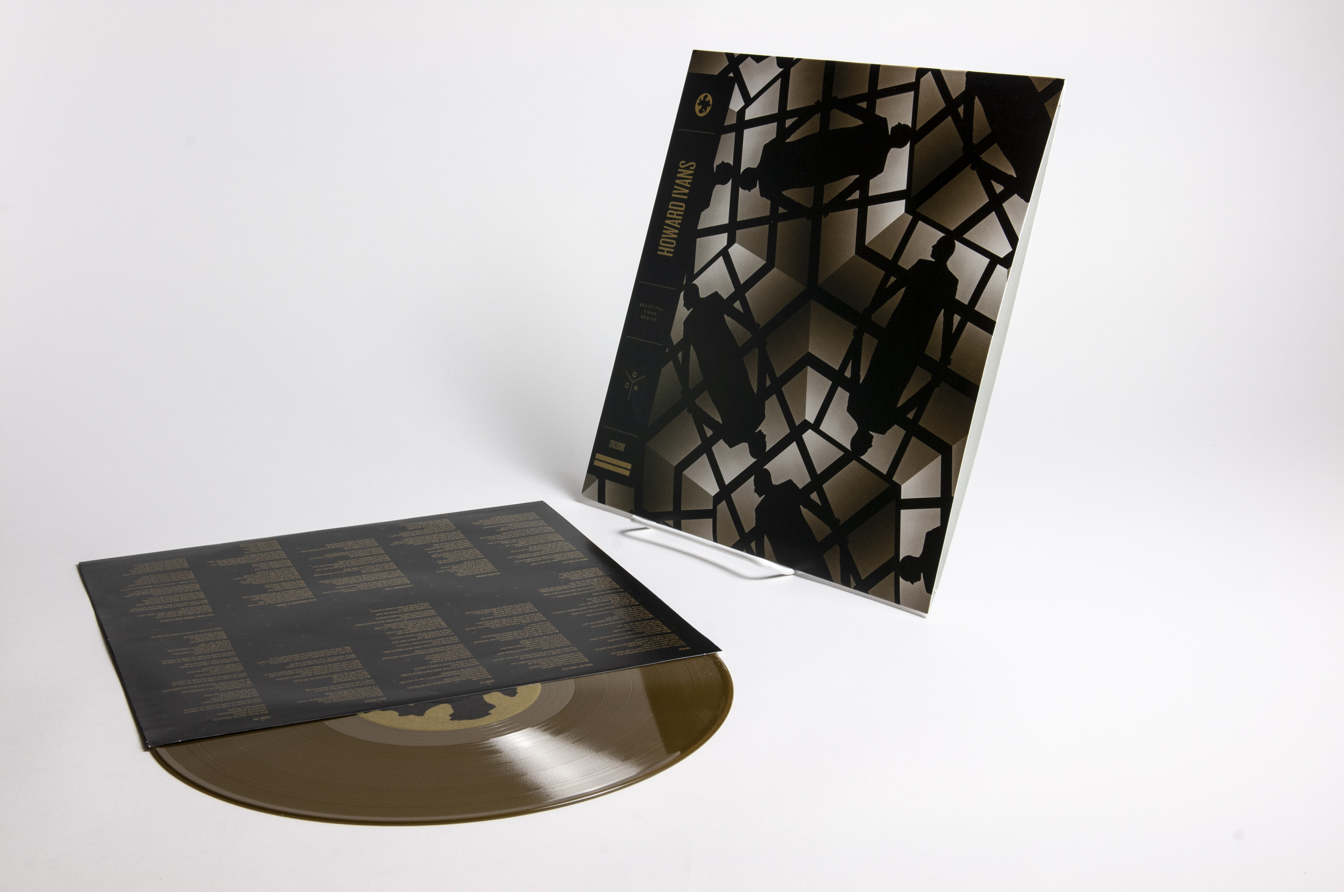 Howard Ivans – 'Beautiful Tired Bodies' – Vinyl (Gold, Black) - Spacebomb Records