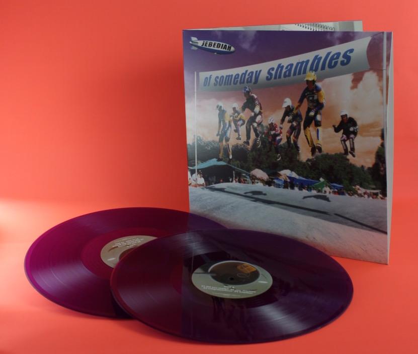 "Of Someday Shambles Anniversary Edition 12"" Double Vinyl - Jebediah"