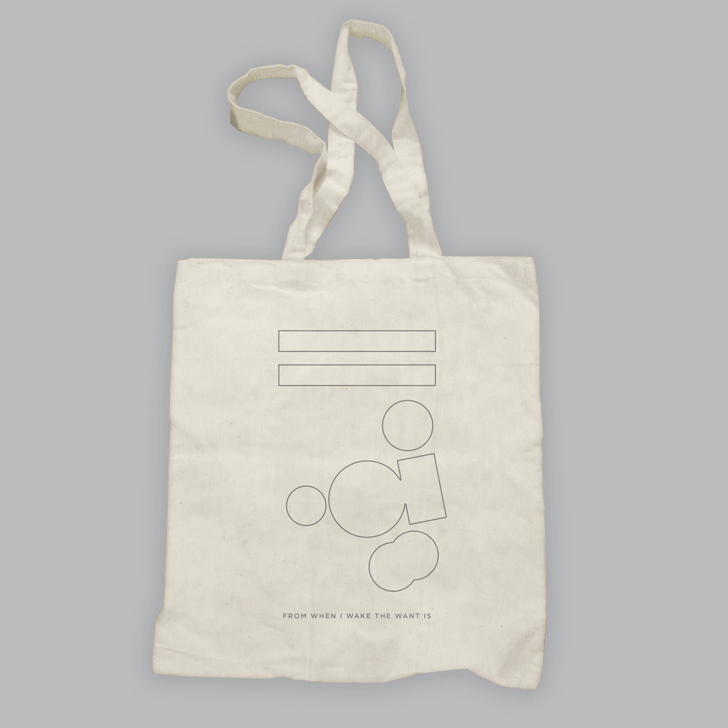 Tote Bag - From When I Wake The Want Is - kathryn joseph
