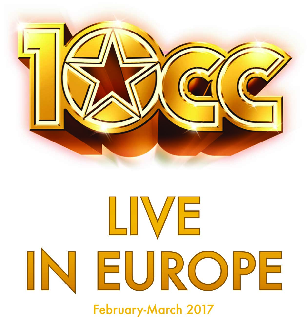 NEW 10CC on tour in Europe CD - 10CC