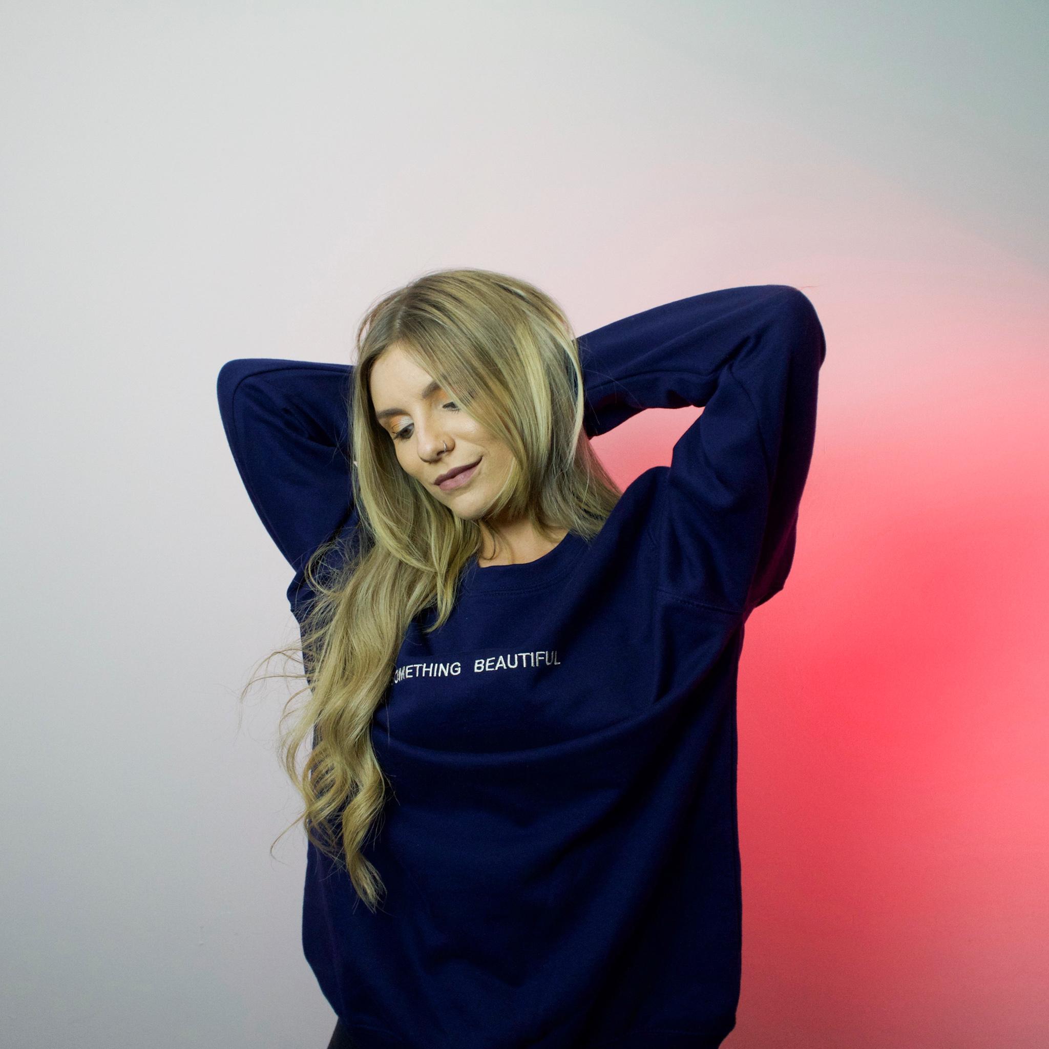 Navy Sweatshirt - Larkins