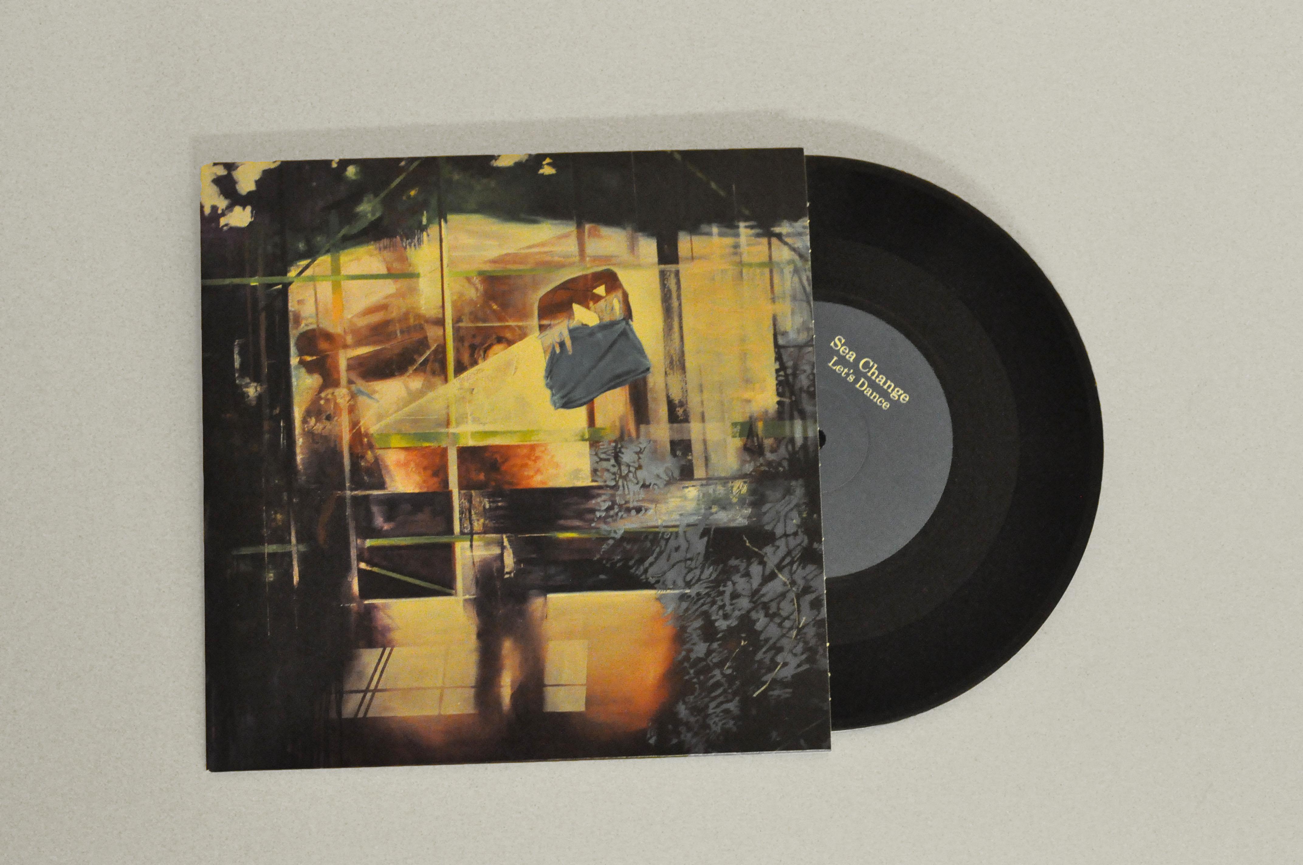 "Sea Change - Let's Dance 7"" single - Shapes Recordings"