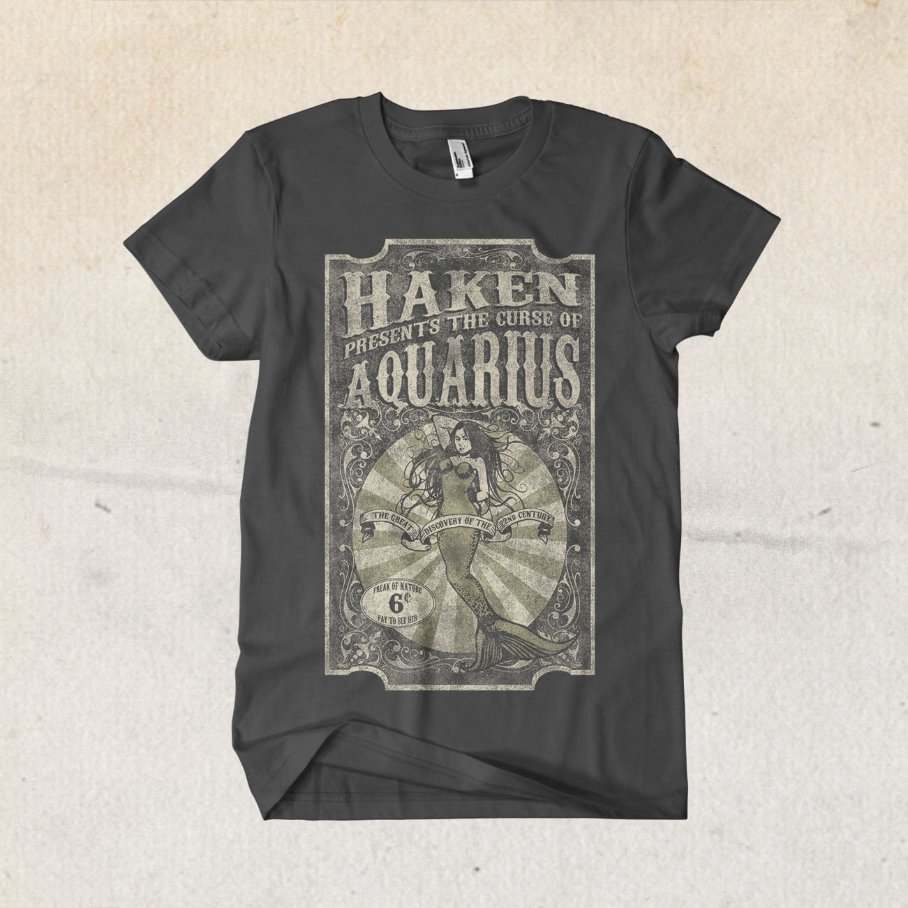 Haken - 'Aquarius' T-Shirt - Haken
