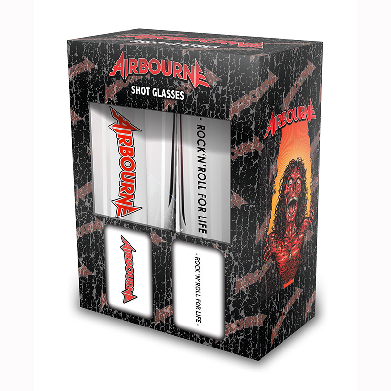 Rock N Roll For Life – Shot Glass Set - Airbourne