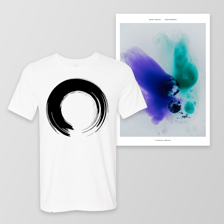 'Enso' T-Shirt + A3 Poster - KOAN Sound USD