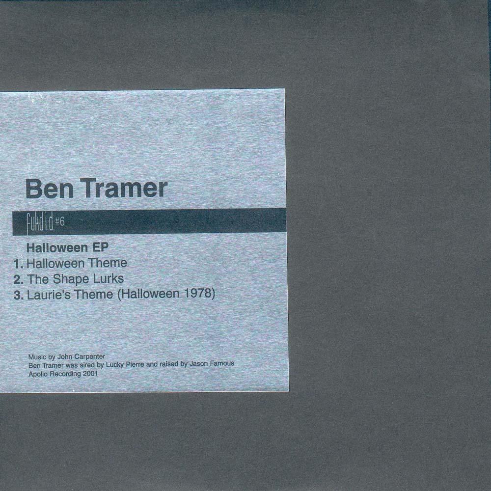 "Ben Tramer: Fukd ID #6 - ""Halloween EP"" - 12"" EP (2001) - Aidan Moffat"