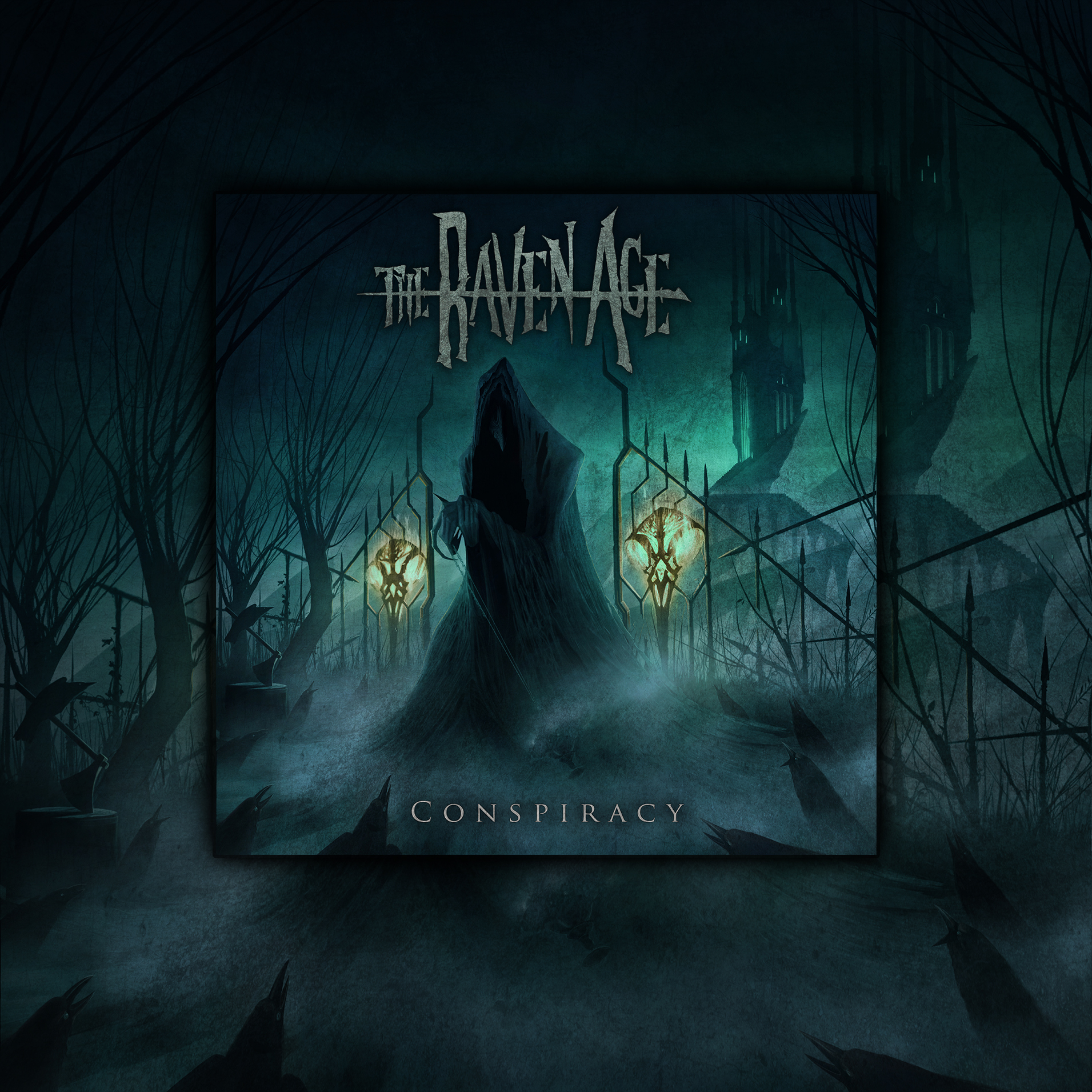 'Conspiracy' Ticket and Digipak CD Bundle - The Raven Age