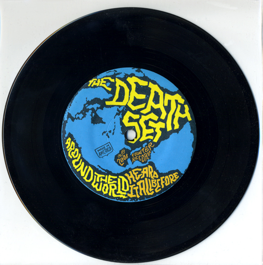 "Around The World (Ltd. one-sided/hand-etched 7"") - The Death Set"