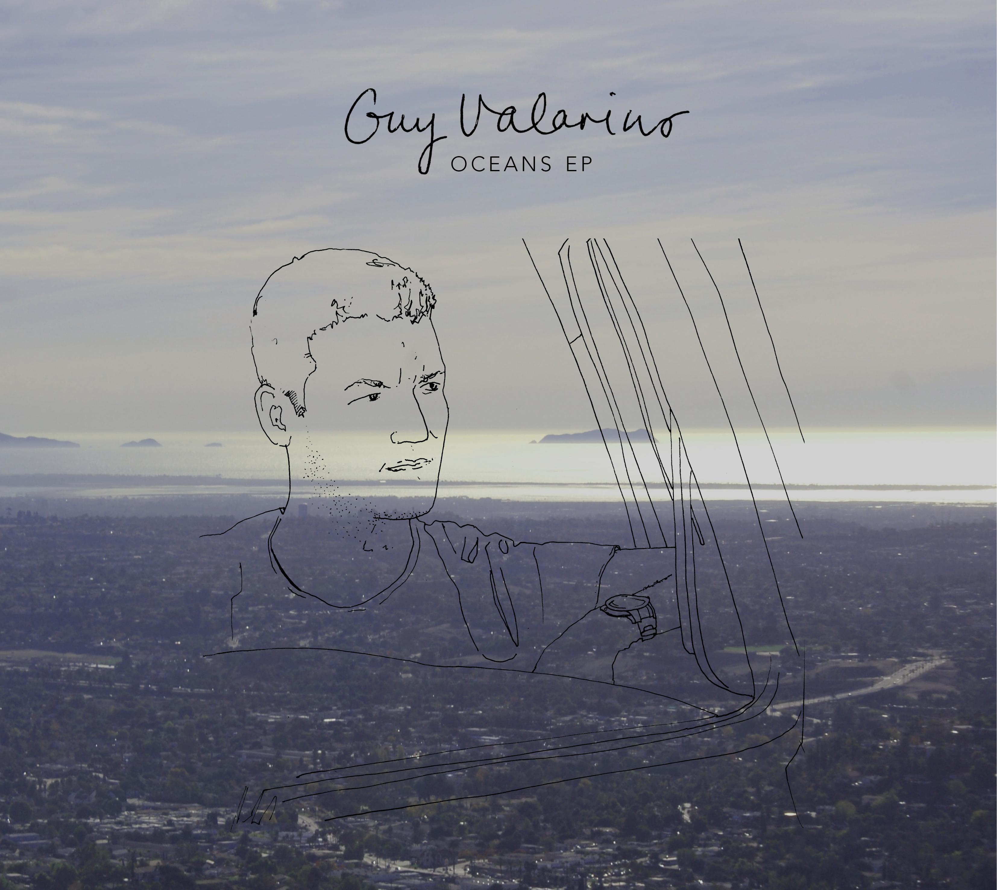 Oceans EP [CD] - Signed - Guy Valarino