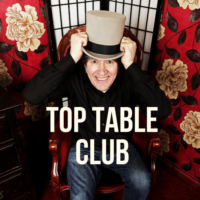 Top Table Membership - Dave Scott-Morgan