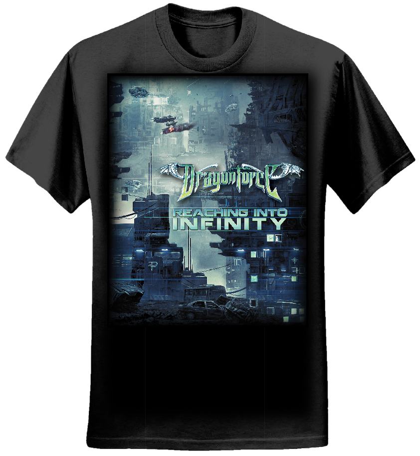 Future City - Mens Tee - Dragonforce