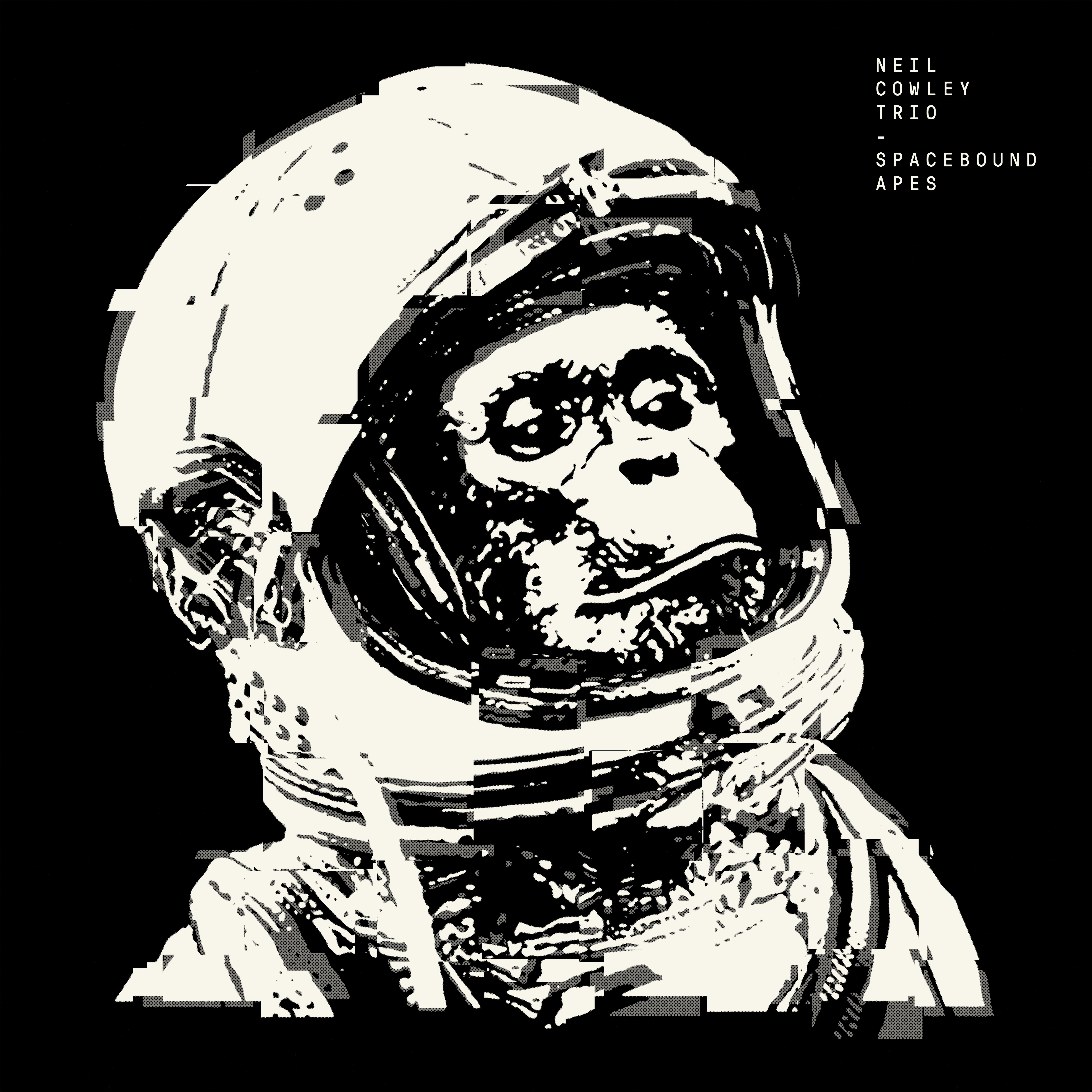 Spacebound Apes Vinyl - neilcowleytrio