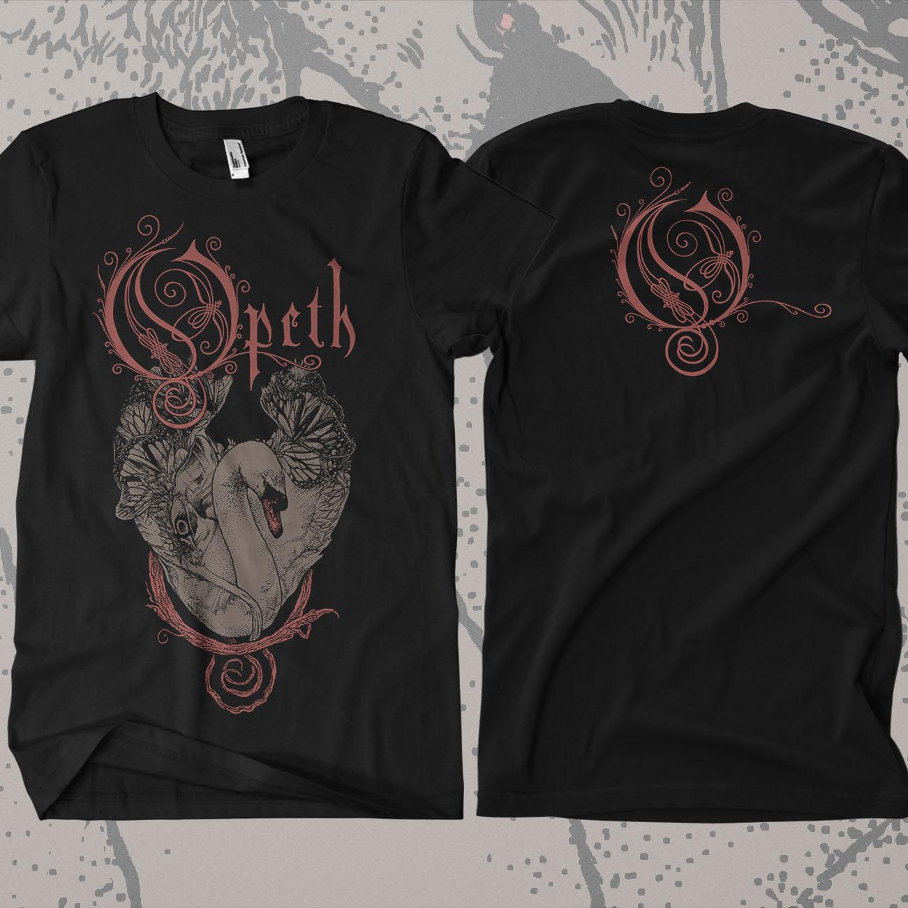 Opeth - 'Swan' T-Shirt - Opeth