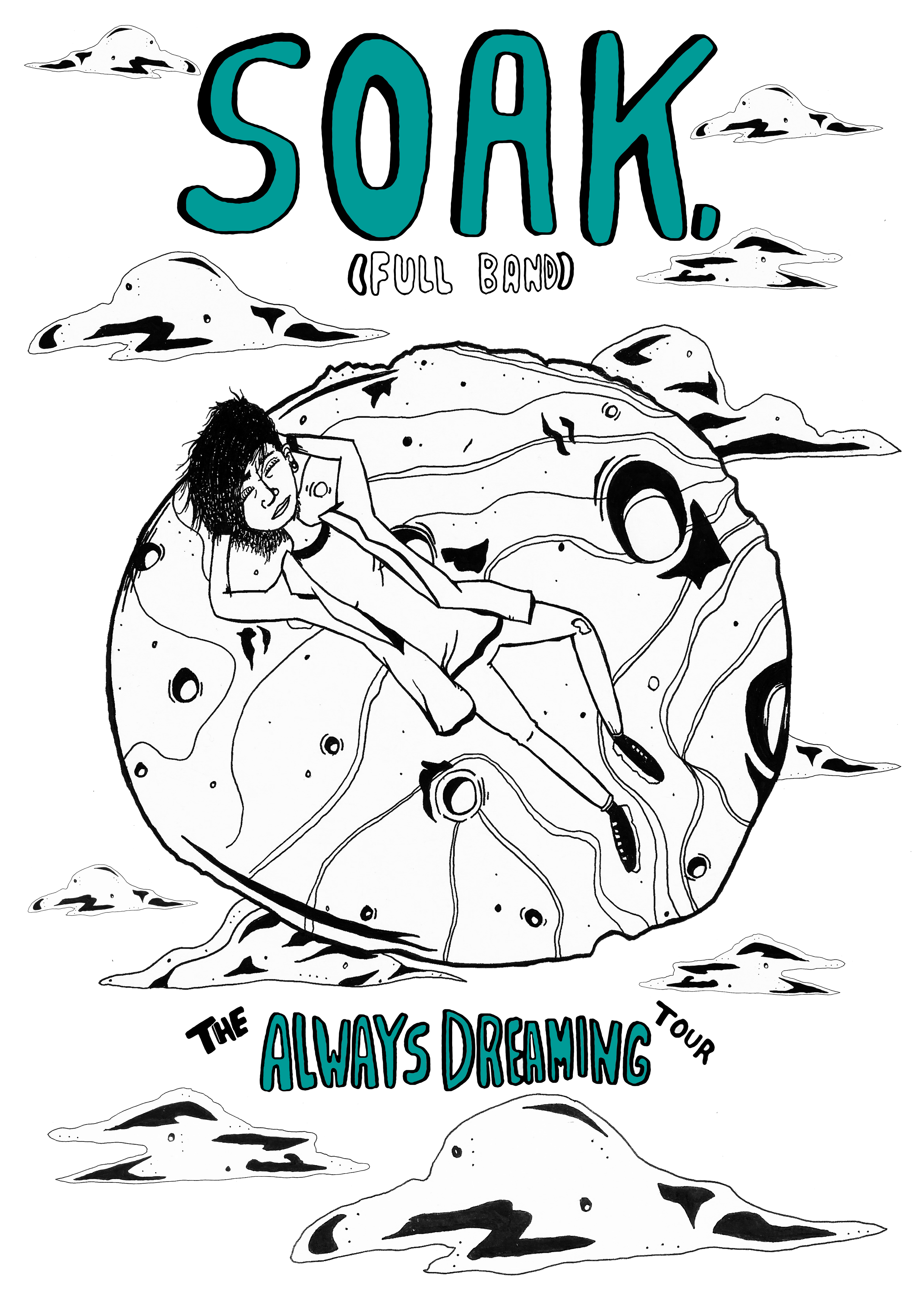 Always Dreaming Tour Poster - SOAK