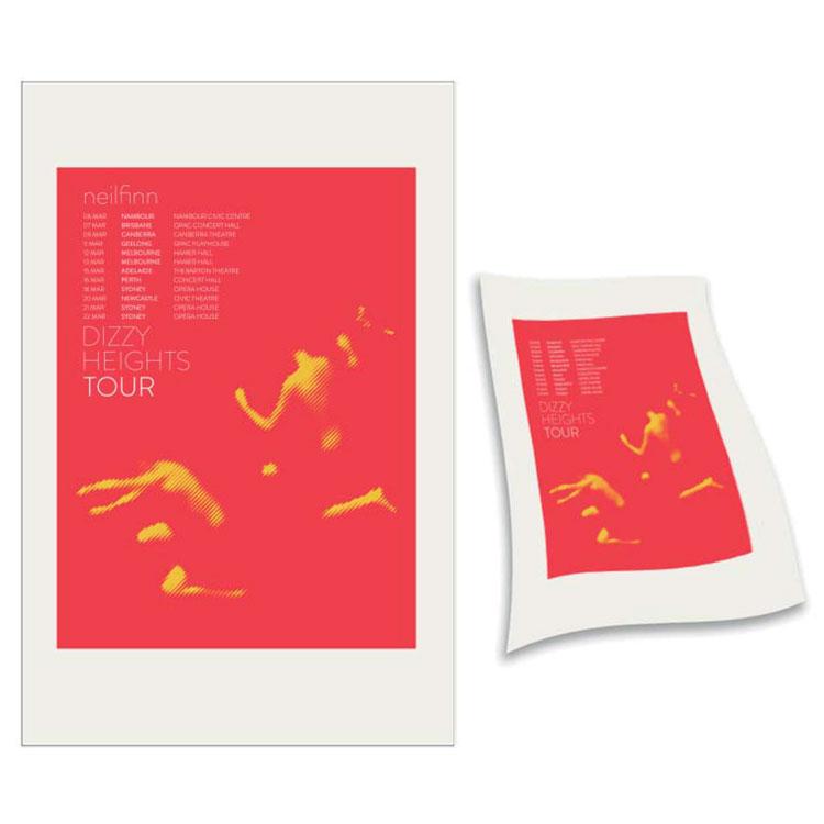 Red Jumper Teatowel - Neil Finn (products)