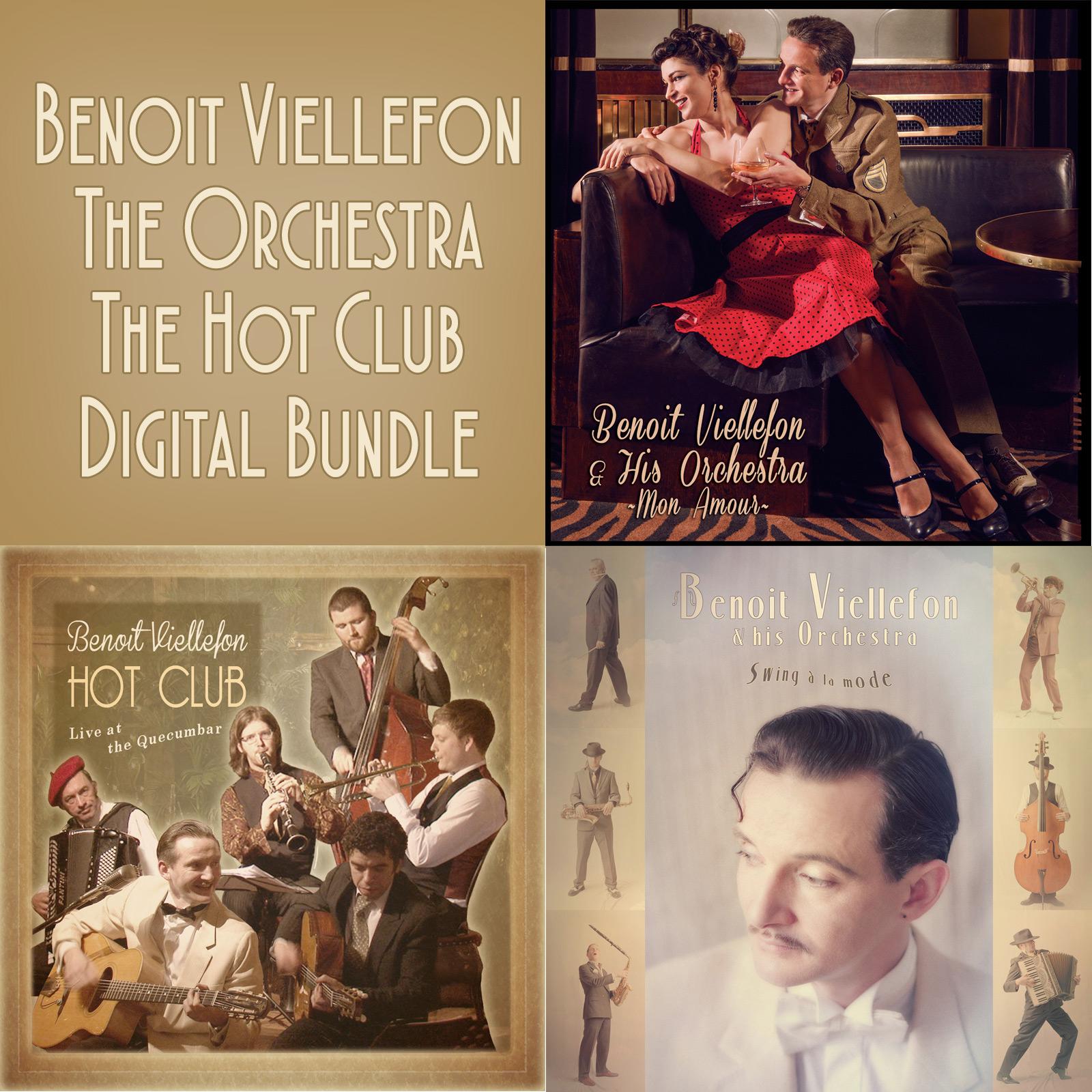 Complete Discography Digital Bundle (Download 3 albums) - Benoit Viellefon
