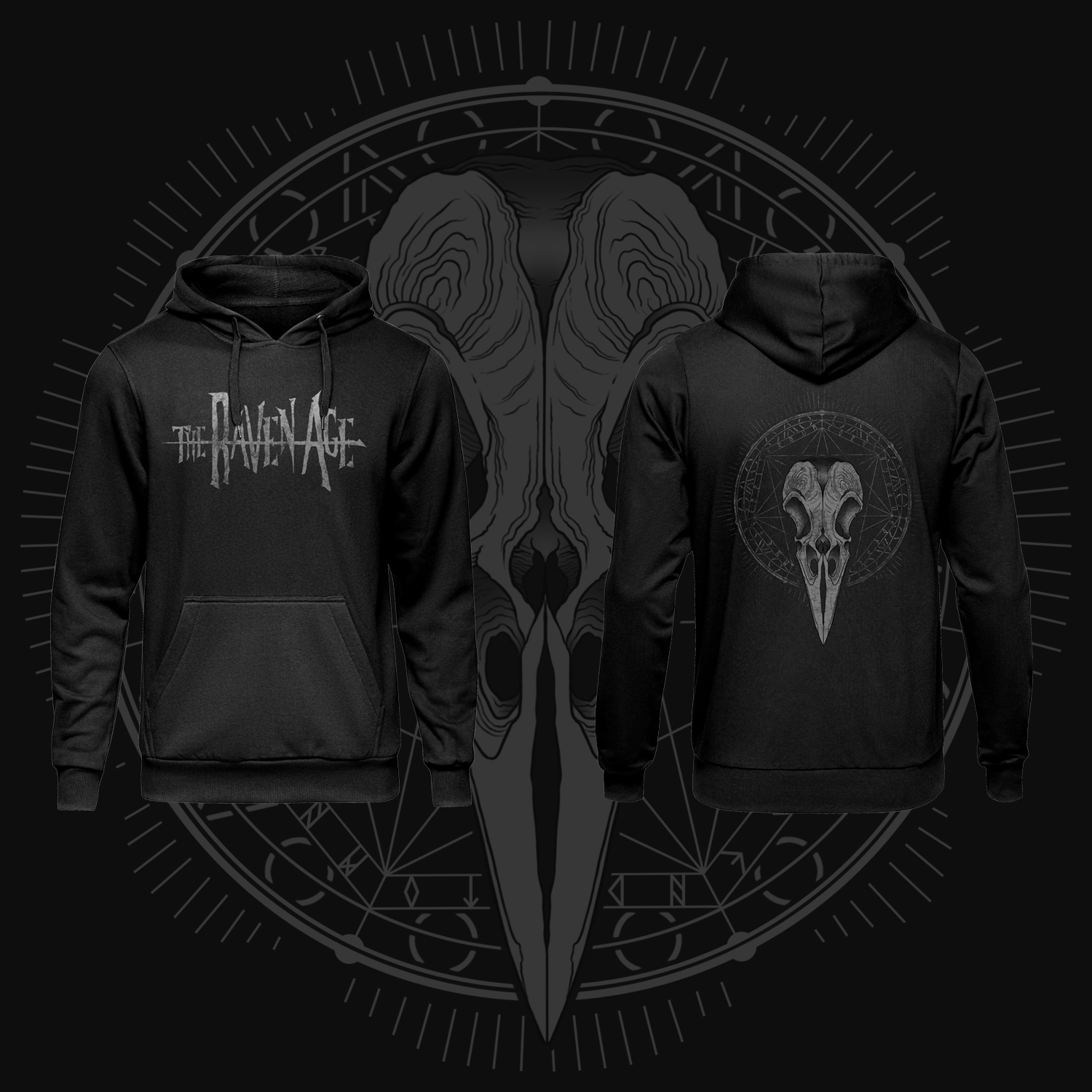 The Raven Age - Hoodie - The Raven Age
