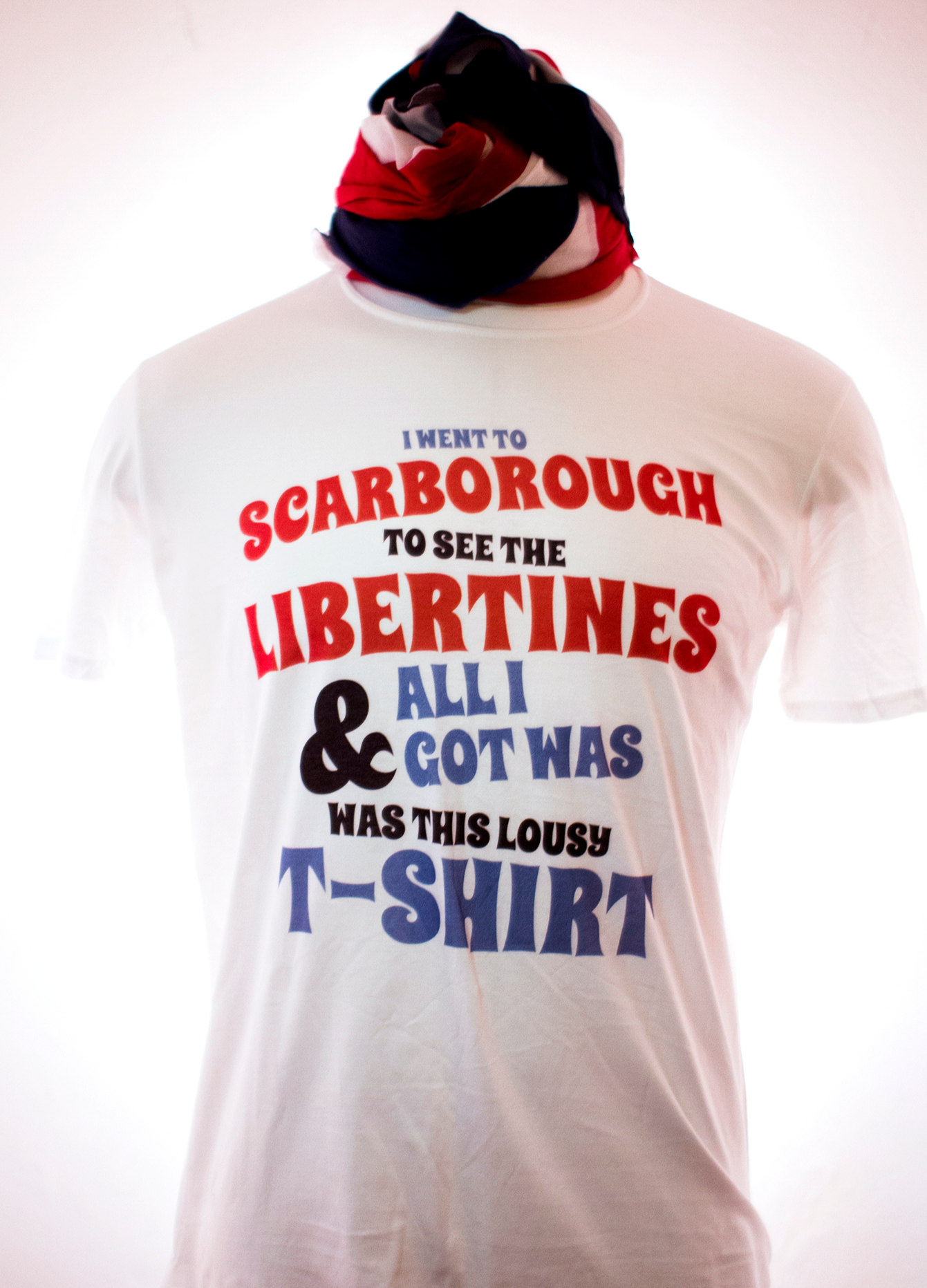 I Went to Scarborough T-Shirt (SALE) - The Libertines