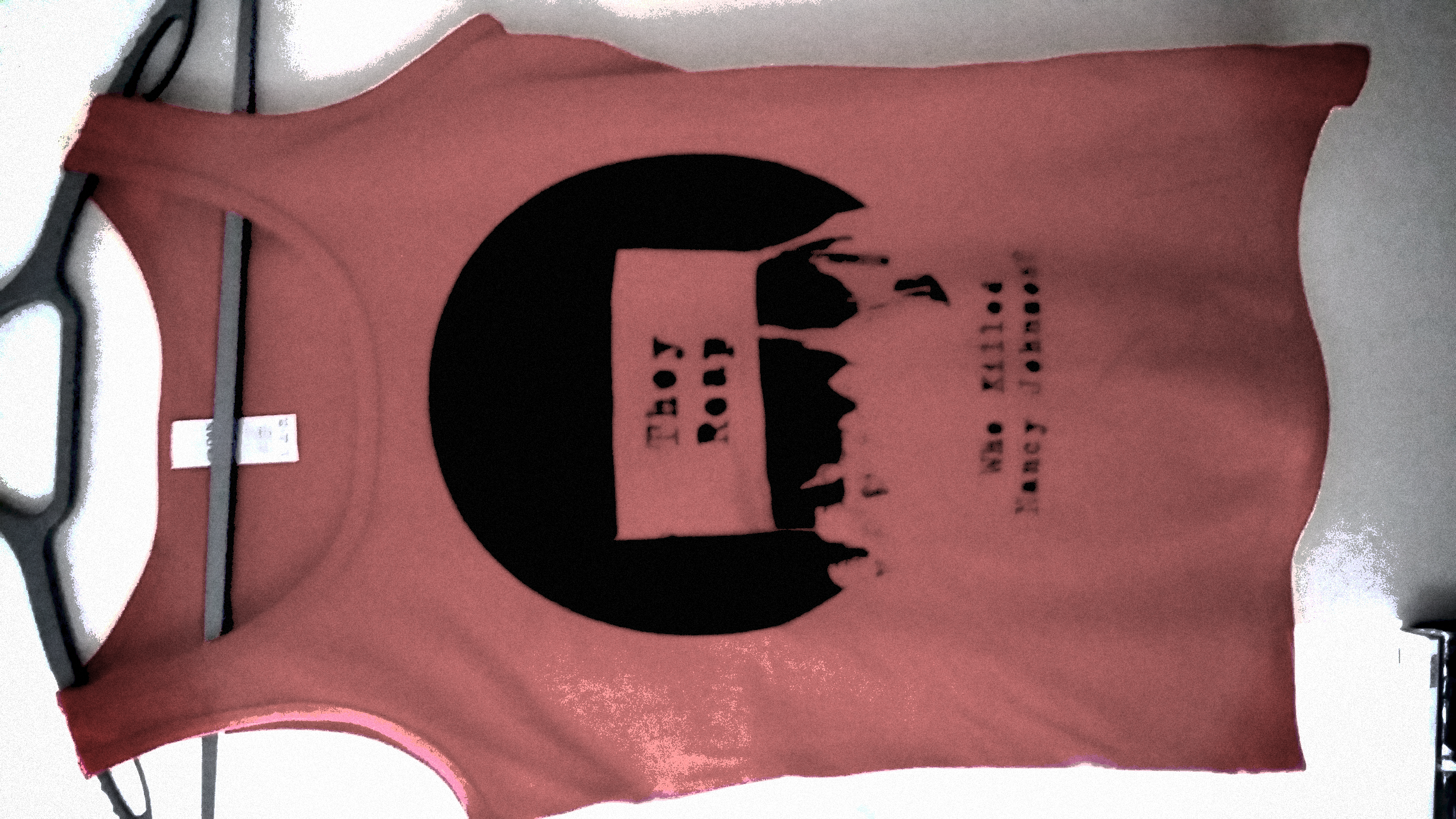 Red They Reap Womens Tank Top - Limited Edition - Who Killed Nancy Johnson?