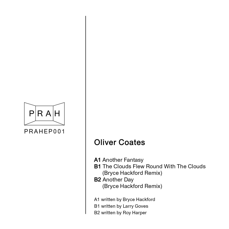 "Oliver Coates - Another Fantasy (12"" Single) - PRAH Recordings"