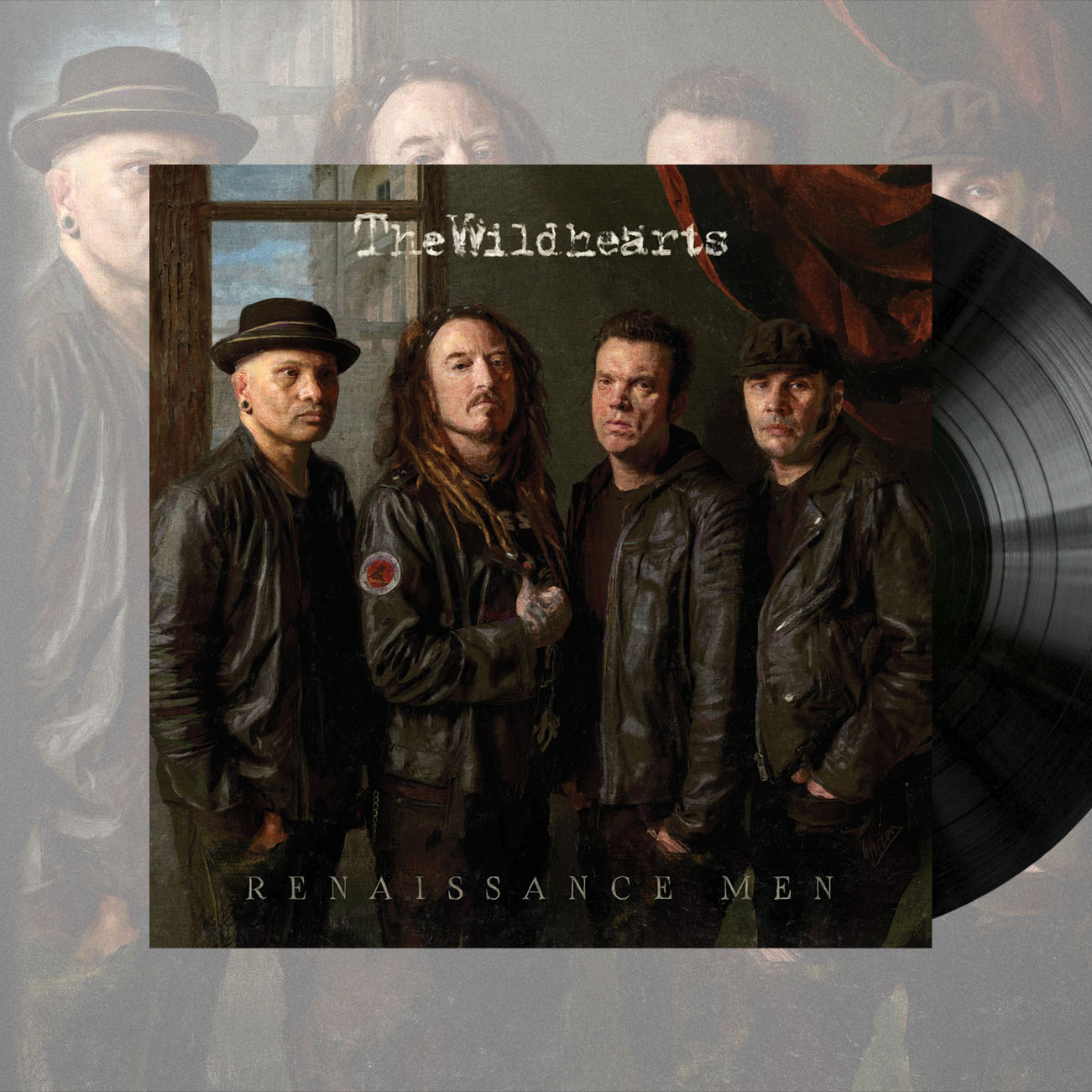 The Wildhearts - 'Renaissance Men' Black Vinyl - The Wildhearts