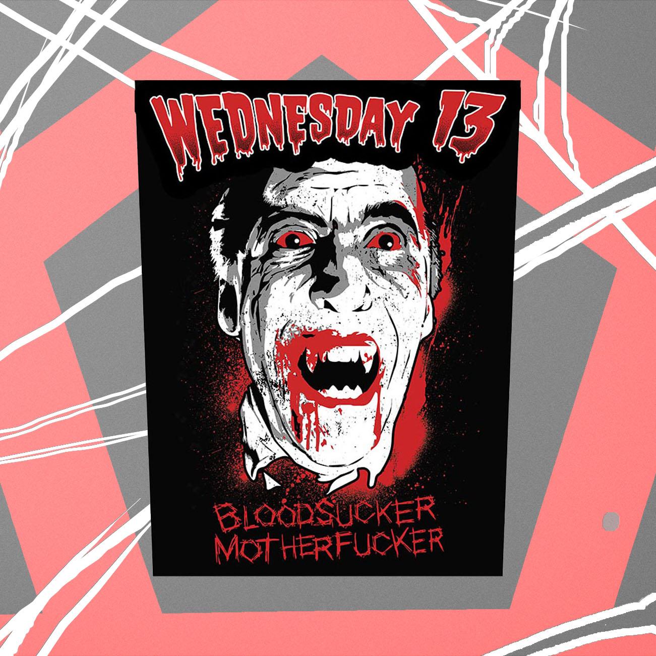 Wednesday 13 - 'Dracula' Back Patch - Wednesday13