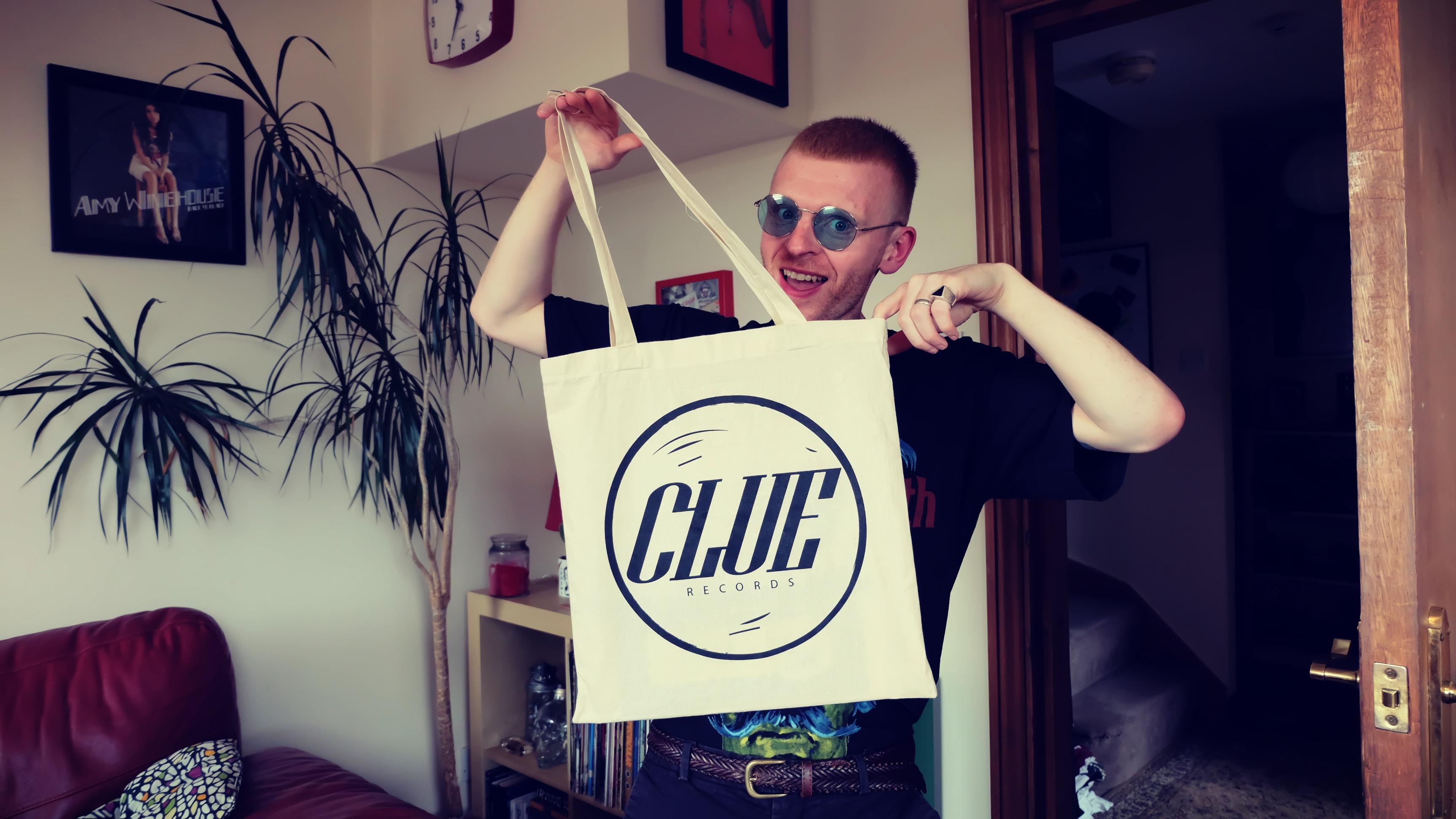 CLUE RECORDS TOTE BAG - Clue Records