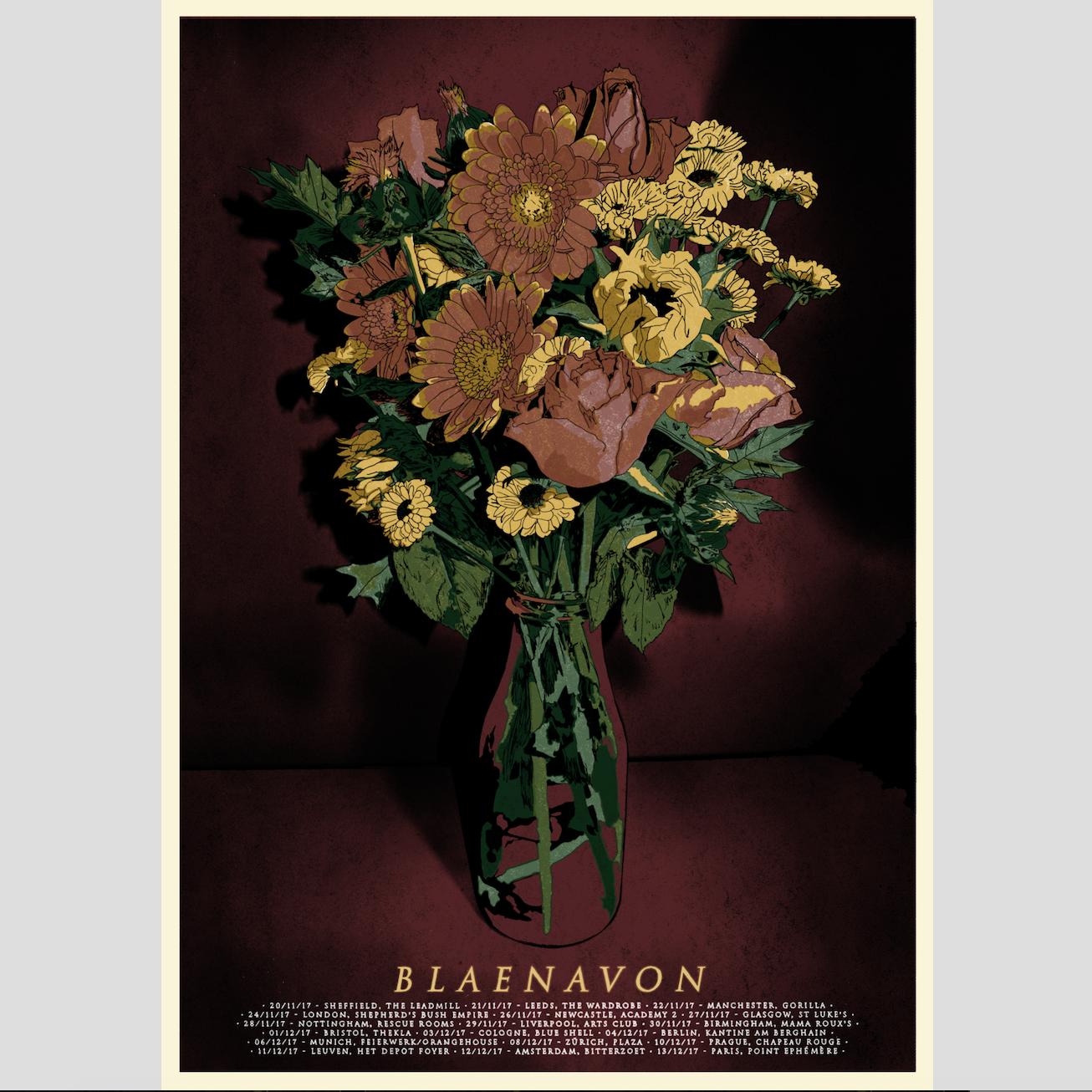 Autumn 2017 tour print - Blaenavon
