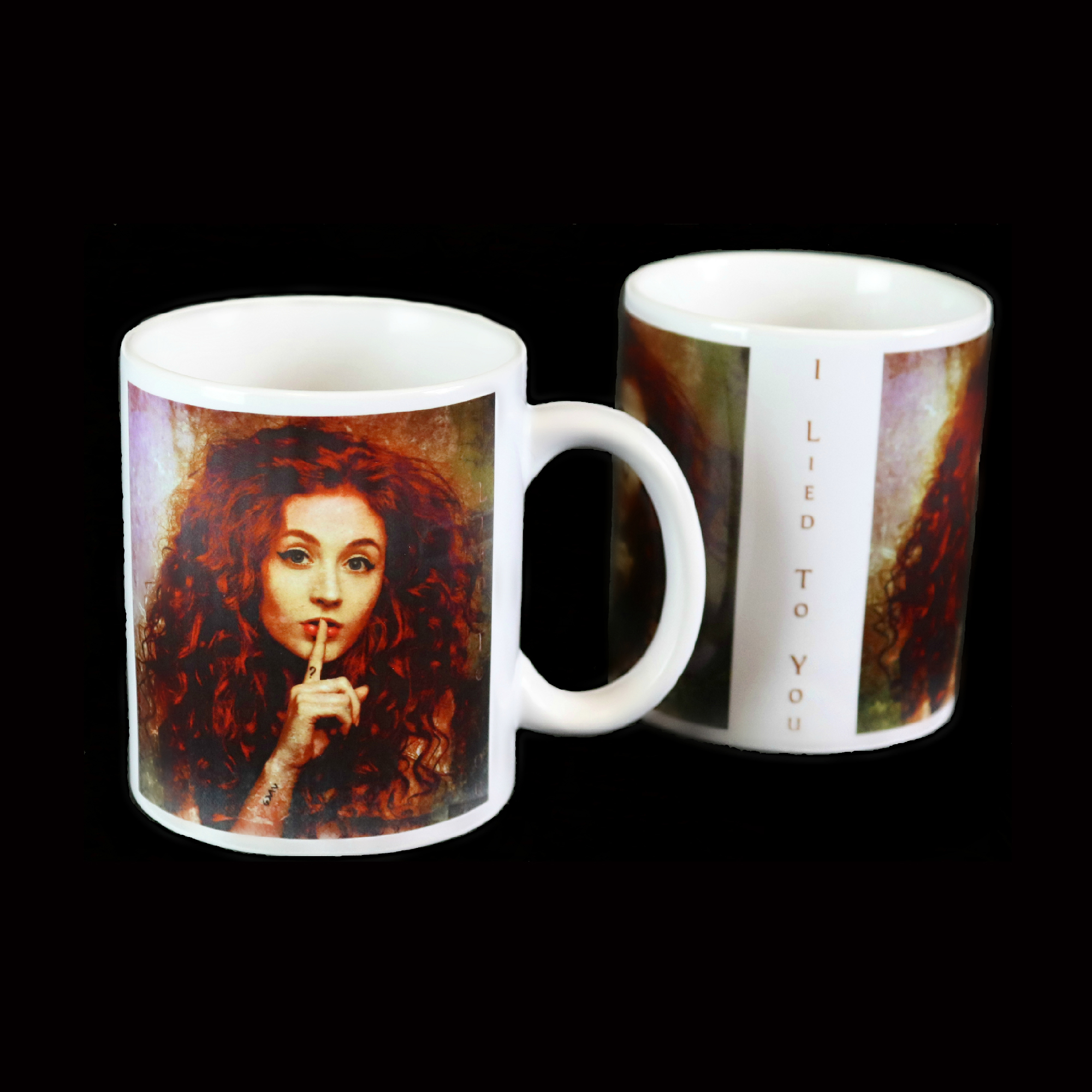 I Lied To You - Single Cover Mug - Janet Devlin