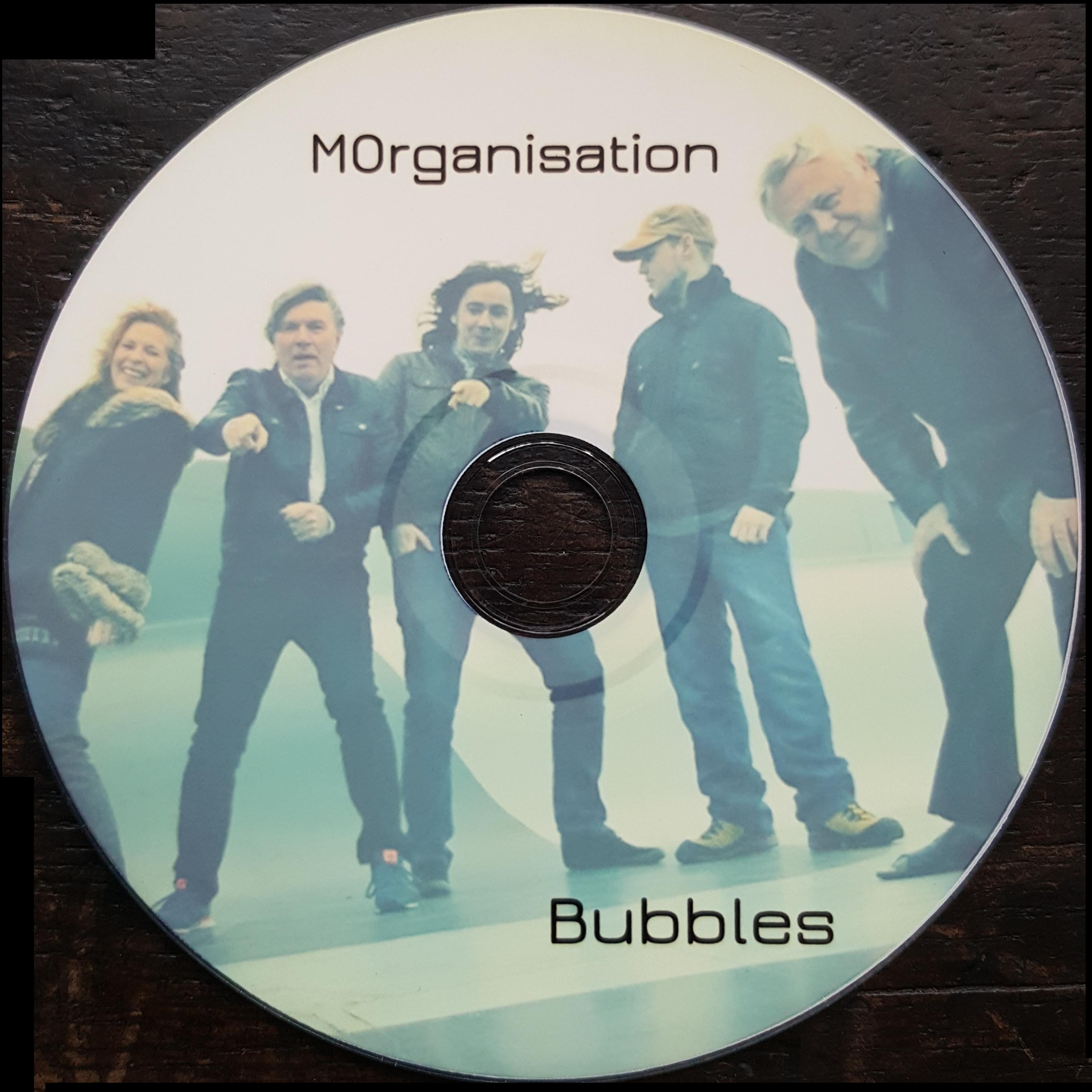 Bubbles album (Limited Copies) - Dave Scott-Morgan