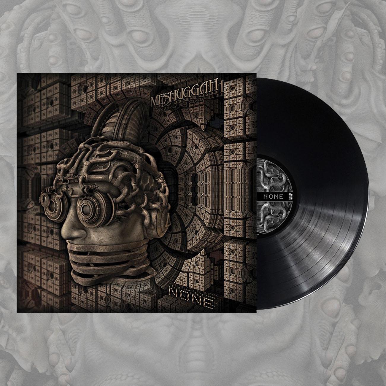 Meshuggah - 'None' Black LP - Meshuggah