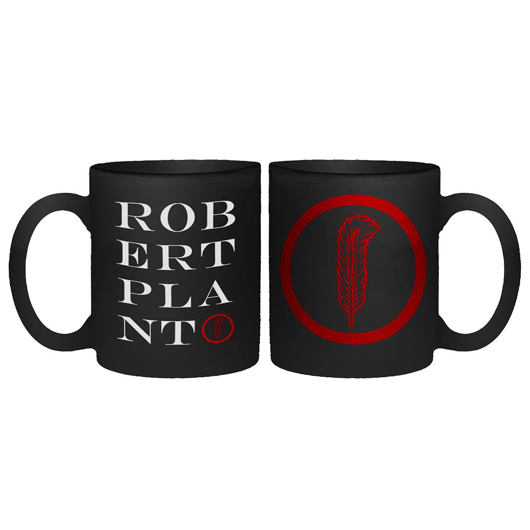Stacked Feather – Mug - Robert Plant