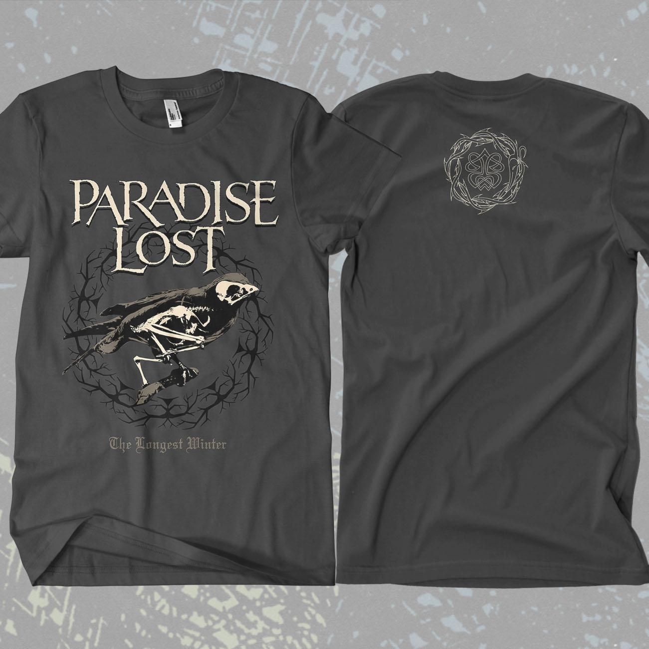 Paradise Lost - 'Longest Winter' T-Shirt - Paradise Lost